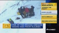 CNBC update: Hiker dies from injuries