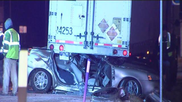 Slick roads cause several crashes on area interstates