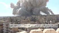 Massive explosion, gunfire, in Aleppo as Syria violence continues