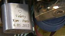 Locks of Love Ruining Paris' Romantic Bridges?