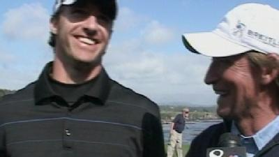 Contest Winner Plays Golf On Pebble Beach With Celebs