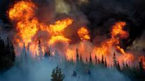 Stunning Photos from Inside Blazing Wildfires