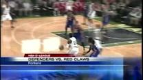 Red Claws lose home opener