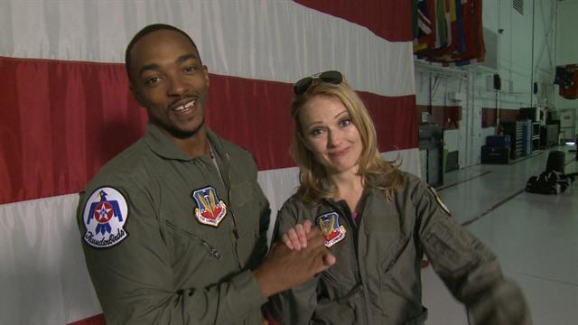 ET Now: 'Captain America's' Anthony Mackie Soars With The Thunderbirds