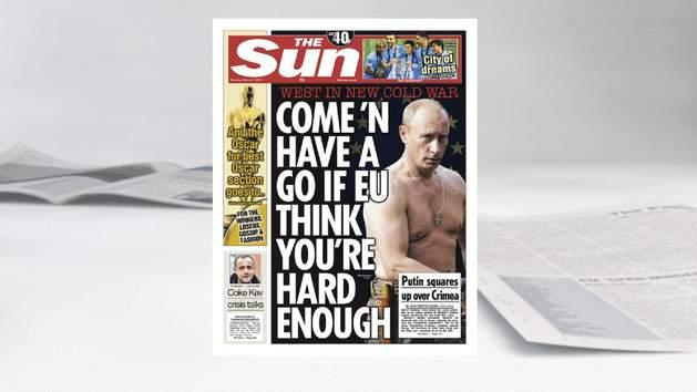 The Front Pages: 3rd March 2014