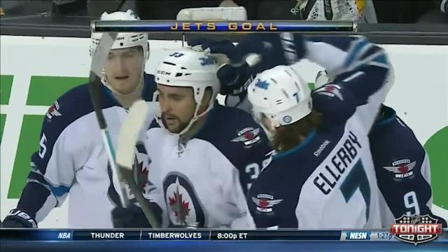 Winnipeg Jets at Boston Bruins - 01/04/2014