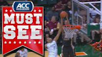 FSU's Devon Bookert Serves Up Aaron Thomas A Nasty Alley-Oop | ACC Must See Moment