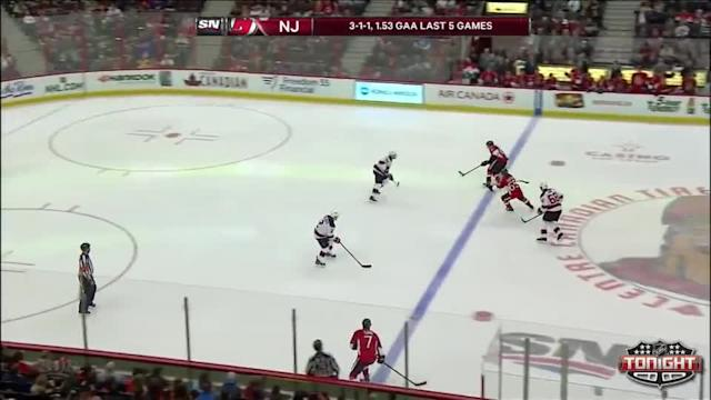New Jersey Devils at Ottawa Senators - 04/10/2014