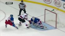 Henrik Lundqvist denies Jagr on the breakaway
