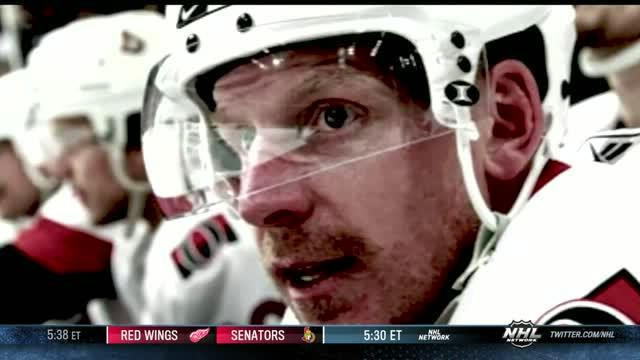 Daniel Alfredsson is honored in Ottawa