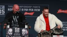 Dana White says potential Mayweather-McGregor bout not close
