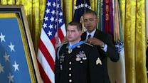 Obama awards Medal of Honor to former Sgt. Kyle White