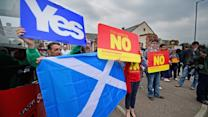 Scottish vote on Independence today