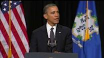 """Obama tells Newtown, """"You are not alone"""""""