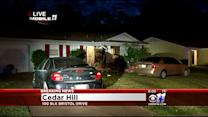Wife Hurt When Husband Crashes Car Into Home