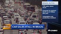 April Brazil car sales down 25%