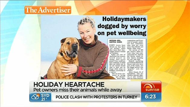 Holidaymakers worried about pets