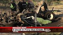 9 Killed, Dozens Hurt In NorCal Tour Bus Crash