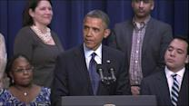 President Obama says fiscal cliff deal close, not done