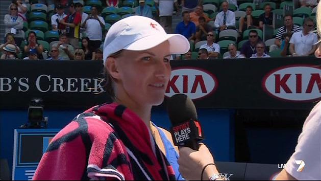 Post Match Interview: Svetlana Kuznetsova