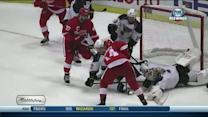 Nyquist outwaits Halak to even the score