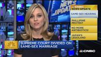 CNBC update: SCOTUS divided on same-sex marriage
