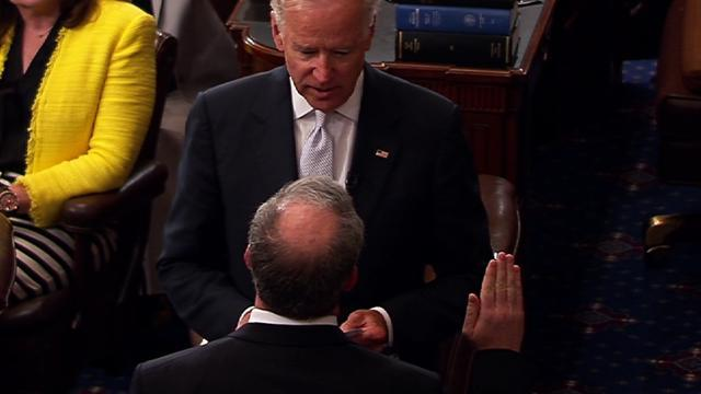 Biden swears in Jeffrey Chiesa to the Senate