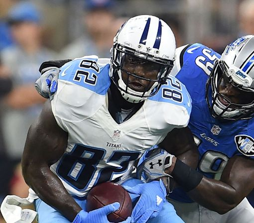 Delanie Walker injury update: Titans TE questionable vs. Raiders