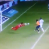 Mexican goalie having the worst day ever