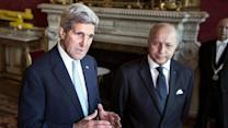 Kerry, French Counterpart Talk Iraq, Ukraine
