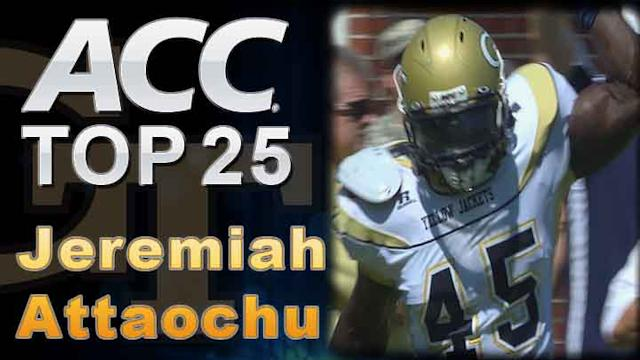 Jeremiah Attaochu, Georgia Tech: ACC Top 25 Players to Watch