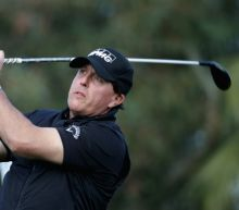 Phil Mickelson in contention at CareerBuilder Challenge