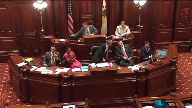 Illinois Pension Stalemate Over