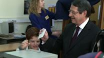Right-wing leader triumphs in crisis-hit Cyprus