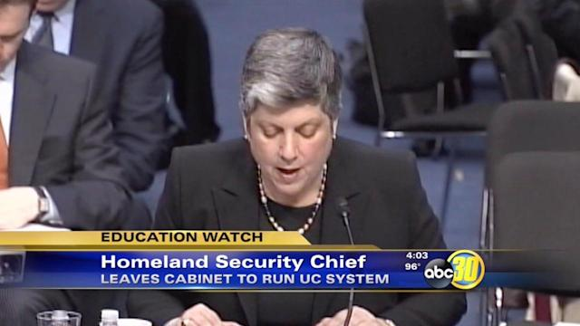 Janet Napolitano to head UC campuses including UC Merced