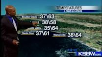 Check out your Saturday evening KSBW Weather Forecast 12 08 12