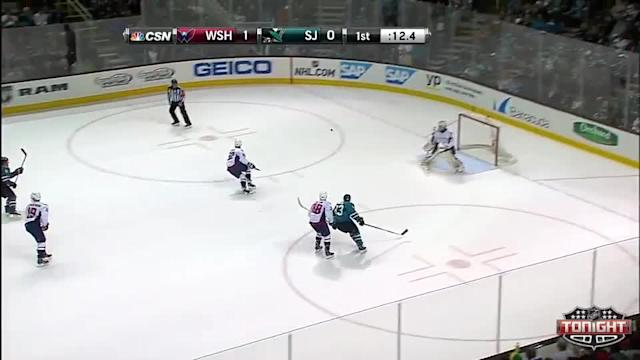 Washington Capitals at San Jose Sharks - 03/22/2014