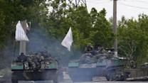Ukraine Troops Move on Pro-Russian Militants