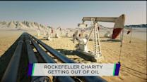 Rockefeller charity pulls money form oil