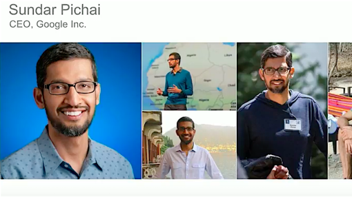 The fun part of Google's earnings call is seeing Sundar Pichai in a wild hat and shorts