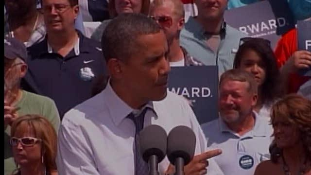 Noon: President Barack Obama visits Mansfield, Akron today
