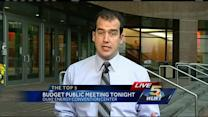 Public meeting on city budget tonight
