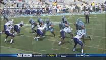 UNC's Bug Howard Skies for Touchdown Catch | ACC Must See Moment