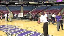 Watch: Man Makes Half Court Shot, Wins NBA Season Tickets