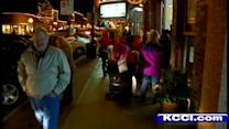 Local businesses buzzing with holiday shoppers?