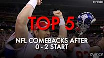 Top 5 NFL comebacks after 0-2 start