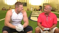 Sitting down with J.J. Watt