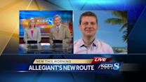 Allegiant announces new flights from Des Moines