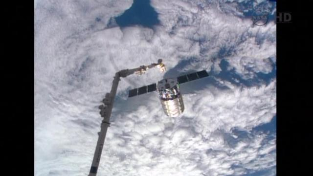 Cygnus supply spacecraft departs International Space Station