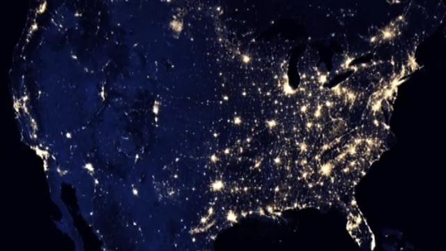 Watch: Earth at night, from space